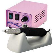 Фрезер Micro-NX 201n-35, 35000 оборотов/мин для маникюра и коррекции ногтей (розовый), фото 1