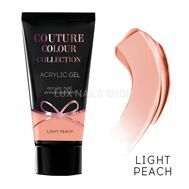 Акрил-гель COUTURE Colour Acrylic Gel# LIGHT PEACH 30ml, фото 1
