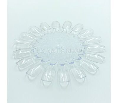 Типсы ромашка прозрачные для образцов, 18 шт., фото 1