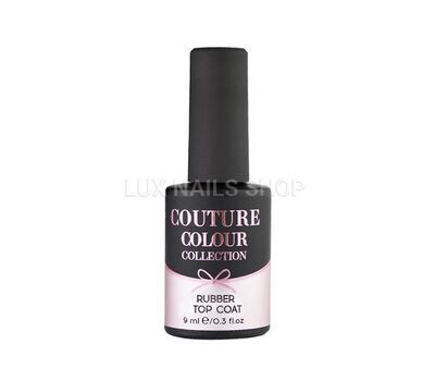 Закрепитель гель-лака COUTURE Colour Rubber Top Coat 9мл, фото 1