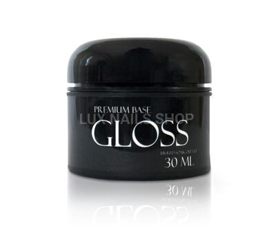 Gloss Premium Base 30 ml - каучуковая основа для гель-лака без кисти, 30 мл, фото 1