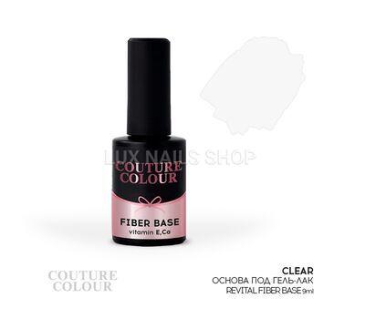 Основа под гель-лак COUTURE Colour Revital Fiber Base #Clear 9ml, фото 1