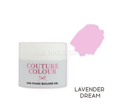 Однофазный гель COUTURE Colour 1-phase Builder Gel 50ml #Lavender dream, фото 1