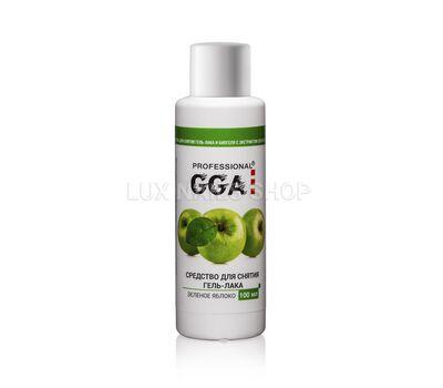 Средство для снятия гель лака GREEN APPLE 100 мл, фото 1