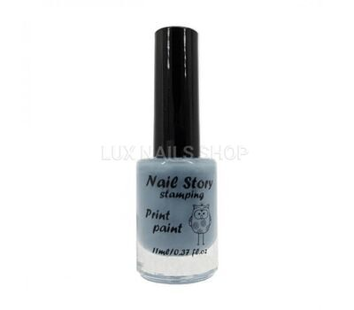Nail Story лак для стемпінгу 11 мл №06, фото 1