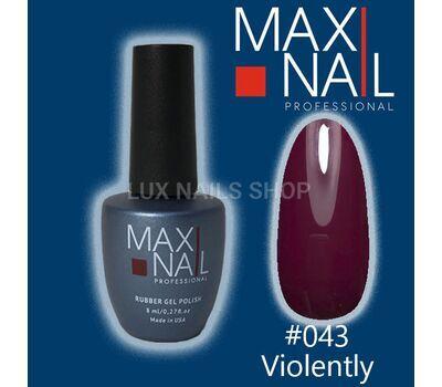 MaxiNail Gel Polish #043 8 ml, фото 1