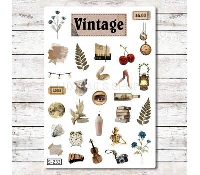 Слайдеры Vintage (S-233), фото 1